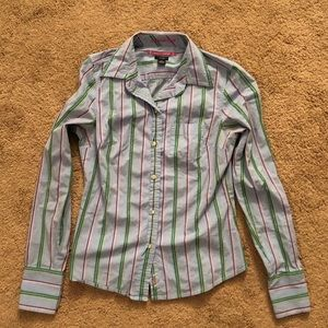 American Eagle stretch women's size 2 button down